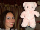 GUND Vintage Light Pink Stuffed Plush KARITAS Tender Teddy BEAR 12