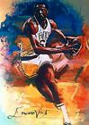 BILL RUSSELL BOSTON CELTICS #3 5 SKETCH CARD SIGNED EDWARD VELA ART AUTO ACEO