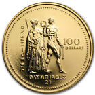 1976 Canada 1 4 oz Gold 100 Montreal Olympics Coin SKU 59790