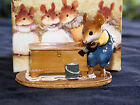 2002 Wee Forest Folk-Brushing Up M-266-Signed William Peterson-Mint with Box