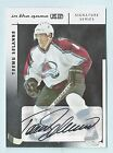 TEEMU SELANNE 2003 04 IN THE GAME ITG SIGNATURE SERIES AUTOGRAPH AUTO