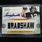 Terry Bradshaw # 15 Autographed 2012 Auto Jersey Card Steelers Signature