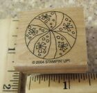BEACH BALL MW RUBBER STAMP STAMPIN UP