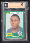 Barry Sanders 1989 Score Football Rookie Card #257 Lions BGS Graded 9.5 GEM MINT