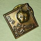 Vintage OLD Pressed WWII Cub Scouts BSA Boy Scouts of America Wolf PIN / Tie Tac