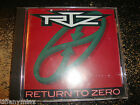 RTZ cd RETURN TO ZERO boston free US shipping...................................