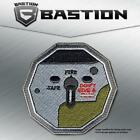 TACTICAL COMBAT BADGE MORALE VELCRO BACK PATCH DON'T GIVE F SWITCH COLOR