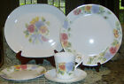 Corelle Summer Blush Floral Pansy Pattern Dinnerware Pieces Corning USA Used