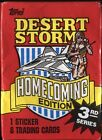 1991 TOPPS DESERT STORM HOMECOMING EDITION WAX PACK FRESH FROM BOX