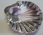 Antique Sterling Solid Silver Clamshell Footed Butter Dish-C1843 Marked WSGS