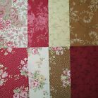 RJR - ROBYN PANDOLPH - BOWOOD HOUSE Cream, Red, Brown Floral - Large 8.5