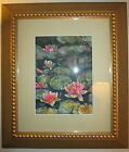 WATER  LILY ORIGINAL,2000-NOW,FLORAL& GARDEN WATERCOLOR  PAINTING  SIGN