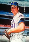 TOM SEAVER NEW YORK METS #13 25 SKETCH CARD SIGNED EDWARD VELA ART AUTO ACEO
