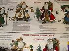 OLDE FATHER CHRISTMAS APPLIQUES, SANTA ST. NICK, 1/2 YD PANEL PLUS EXTRA VA-19