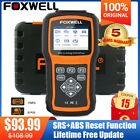 ABS Airbag SRS Reset OBDII Diagnostic Scanner Engine Code Reader Auto Scan Tool