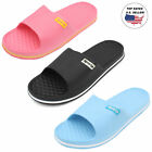 Womens Slip On Sport Sandals Slides Comfort House Shoes Flip Flop Shower Slipper