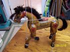 VINTAGE OLD ANTIQUE ? MARIONETTE JOINTED WOOD HORSE HAND PAINTED ? TOY  PUPPET
