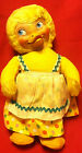GUND~ Rubber Face Ducky Bunny~1950's~Early 2 Digit Zip Code~Rushton like~U.S.A.