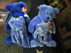 TY Beanie Baby 1998 CLUBBY still in ORIGINAL PACKAGE w/ Clubby 2 and Buddies!!!