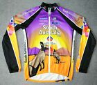 SOUTH AUSTRALIA MAPEI CYCLING JERSEY BY SANTINI MENS 3XL XXXL LONG SLEEVE