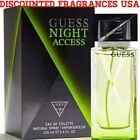 GUESS  NIGHT ACCESS FOR MEN EAU DE TOILETTE EDT 3.3 / 3.4 OZ 100 ML /