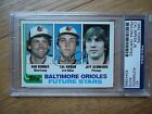 CAL RIPKEN JR. 1982 TOPPS #21 ORIOLES ROOKIE– PSA DNA CERTIFIED AUTOGRAPHED CARD