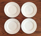 (4)Mikasa Classic Flair White Calla Lily Salad Plates ~ MORE PIECES AVAILABLE