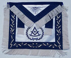 Masonic Apron Deluxe Fabric Past Master Mason Freemason US Seller