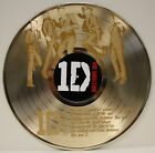 One Direction LTD Edition Laser Etched Image LP Record Wall Art