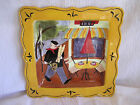 Jennifer Brinley Cert International French Cafe Square Plate Dis