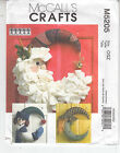 Seasonal Wreaths Santa Snowman Witch McCalls Sewing Pattern 5205 Uncut 20