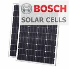 160W solar system 2x80W panels for charging 12V 24V motorhome battery 80 watt