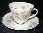 Royal Doulton PASSION FLOWER - 9 Cups and 6 Saucers, H4833