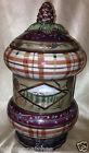 ZRIKE DANNA CULLEN VINTAGE CABIN SMALL CANISTER & LID 9 1/4
