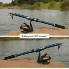 Portable Telescopic Fishing Rod Tackle Travel Spinning Fishing Pole 21M New
