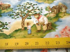 Red Rooster Fabrics Adventures of Sonny Bear Cabin Woods Blue