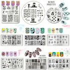 BORN PRETTY Nail Art Stamp Templates Image Stamping Plates Manicure Nails Decor