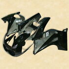 Black Gray ABS Plastic Bodywork Fairing Cowl Kit For YAMAHA FZR250 2KR 86-88 87