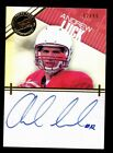 2012 Press Pass Showcase End Zone Andrew Luck RC Rookie AUTO 92 99