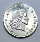 WORLD WIDE MINT PROOF 1981 AMERICAN EAGLE999 SILVER ROUND COIN 1TROY OUNCEUNC
