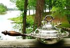 Vintage Webster Wilcox Oneida Silverplate Large Covered Serving/Chafing Dish