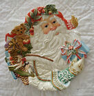 Fitz & Floyd Classics Enchanted Holiday Santa Platter Serving Plate
