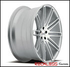 22 BLAQUE DIAMOND BD2 CONCAVE WHEELS RIMS SILVER FITS INFINITI QX70 QX60