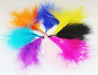 25 50 100pc Feathers Marabou 2 4 Inch Many Colors Available fly tying costuming