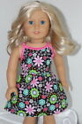 Dress made for 18inch American Girl Doll Clothes Bright Floral