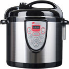 Electric Food Cooker Stainless Steel 6 In 1 Multi Function Digital Cooking Pot