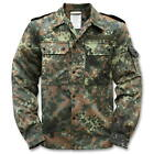 German army field shirt jacket coat fieldshirt camo camouflage military