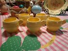 VINTAGE METLOX POTTERY CUPS TOM AND JERRY SET OF 5