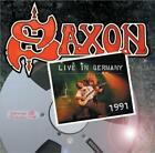 SAXON - LIVE IN GERMANY, 1991 NEW CD