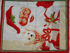 Jolly Old Saint Nick Christmas Santa Claus W Teddy BY YARDS QT Cotton Fabric
